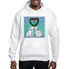 Polar Bear Kiss Hoodie