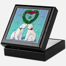 Polar Bear Kiss Keepsake Box