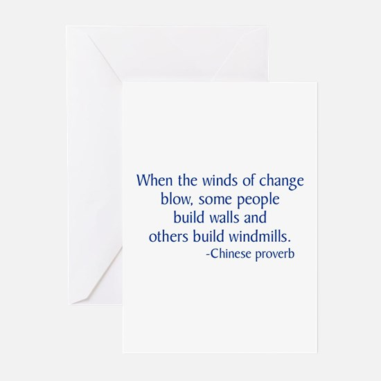 Winds of Change Greeting Cards (Pk of 10)