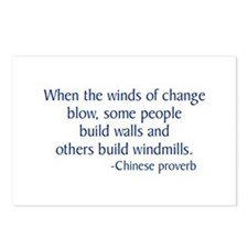 Winds of Change Postcards (Package of 8)