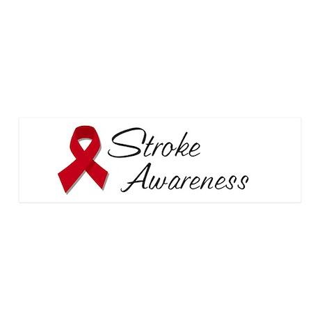 Stroke Awareness 21x7 Wall Peel