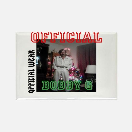 Official Bobby G Rectangle Magnet