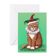 Christmas Fool Greeting Card