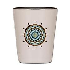 Mehndi Fantasy Copper Shot Glass