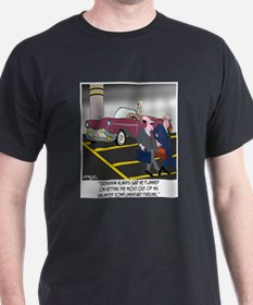 Parking Even in Death T-Shirt