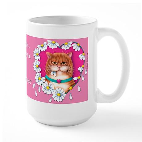 Loves Me Large Mug