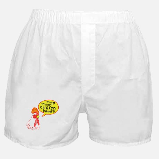 Winner Chicken Dinner Boxer Shorts