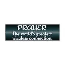 Prayer - World's Greatest Wir Car Magnet 10 x 3
