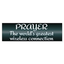 Prayer - World's Greatest Wir Bumper Bumper Sticker