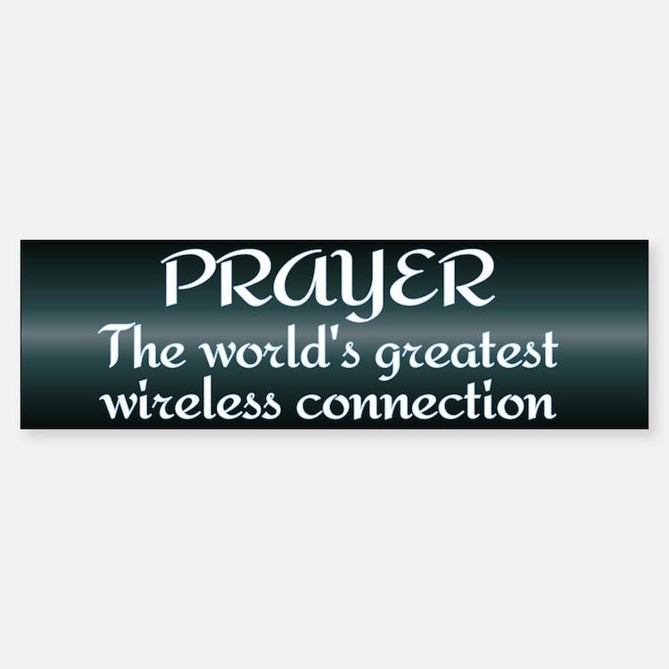 Prayer - World's Greatest Wir Bumper Bumper Sticker