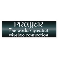 Prayer - World's Greatest Wir Bumper Sticker