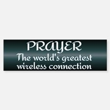 Prayer - World's Greatest Wir Sticker (Bumper)