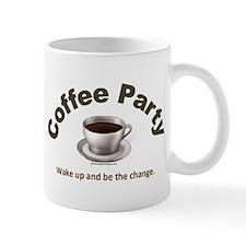 Coffee Party Be the Change Mug