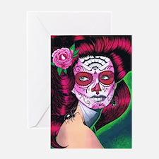 sugar_skull_14 Greeting Cards