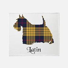 Terrier - Latin Throw Blanket