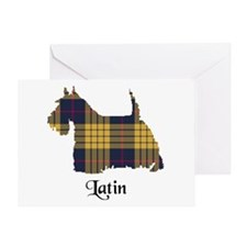 Terrier - Latin Greeting Card