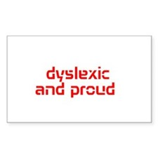 Unique Dyslexia Decal