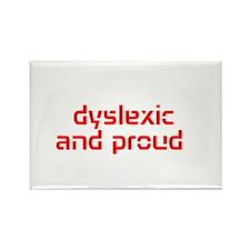 Unique Dyslexia Rectangle Magnet