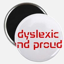 Cute Dyslexia Magnet