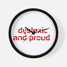 Cute Dyslexic Wall Clock