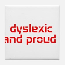 Unique Dyslexia Tile Coaster