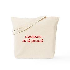 Unique Dyslexic Tote Bag
