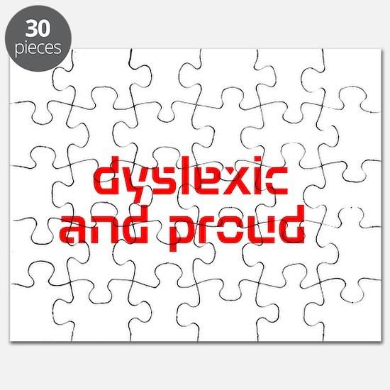 Cute Dyslexic Puzzle
