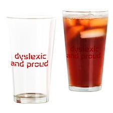 Funny Dyslexia Drinking Glass