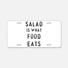 Salad - Aluminum License Plate