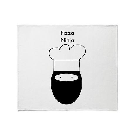 Pizza Ninja Throw Blanket