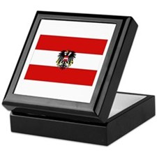 Austrian National Flag Keepsake Box
