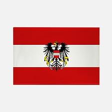 Austrian National Flag Rectangle Magnet
