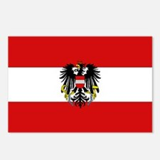 Austrian National Flag Postcards (Package of 8)