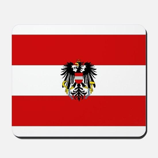 Austrian National Flag Mousepad