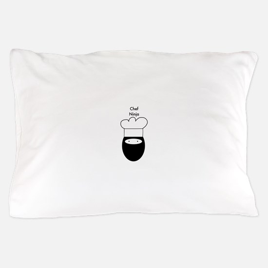 Chef Ninja Pillow Case