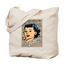 Happier Housewife Tote Bag