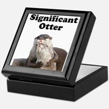 Significant Otter Keepsake Box