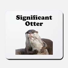 Significant Otter Mousepad