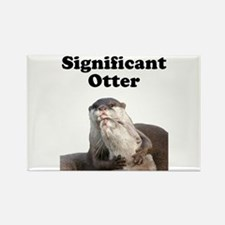 Significant Otter Rectangle Magnet (100 pack)