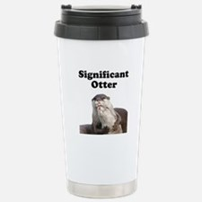 Significant Otter Stainless Steel Travel Mug