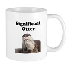 Significant Otter Small Mug