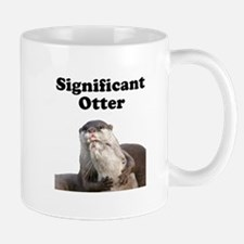Significant Otter Small Mugs
