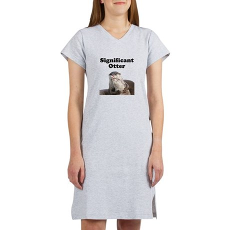 Significant Otter Women's Nightshirt