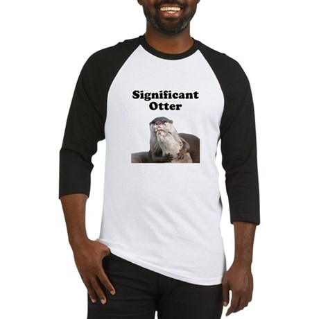 Significant Otter Baseball Jersey