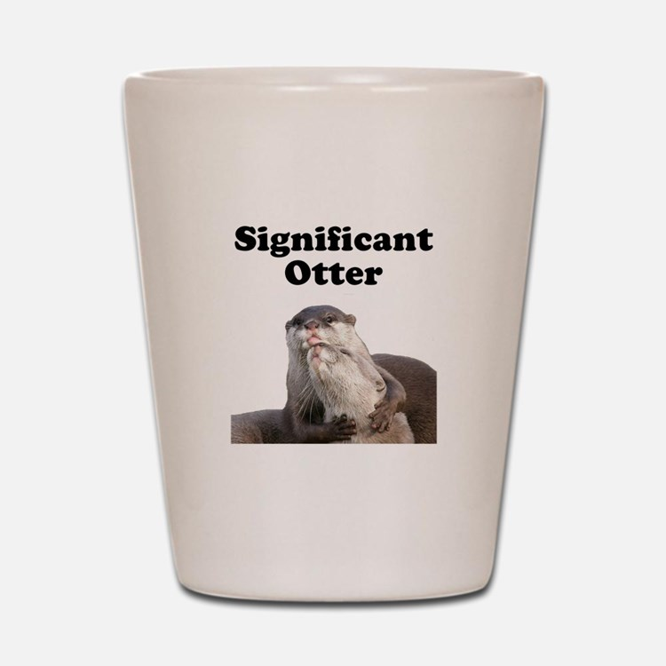 Significant Otter Shot Glass