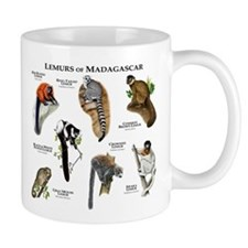 Lemurs of Madagascar Mug