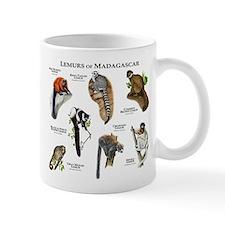 Lemurs of Madagascar Small Mug
