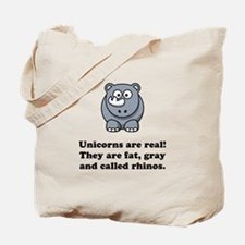 Unicorn Rhino Tote Bag
