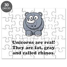 Unicorn Rhino Puzzle