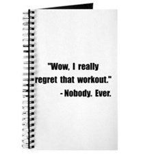 Workout Quote Journal